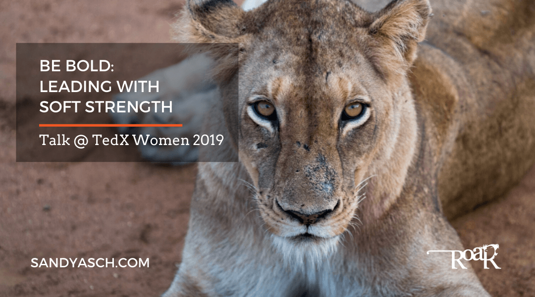 """Be Bold: Leading with Soft Strength"" at TedX Women 2019"